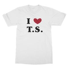 I <3 T.S. Men's T-Shirt