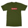 Hypebeast olive men tshirt