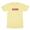 Hypebeast yellow men tshirt