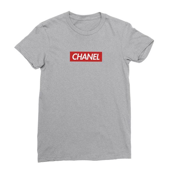 caa585a475e ... Chanel athletic heather women tshirt ...