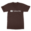 Youtube subscribe chocolate men tshirt