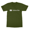Youtube subscribe olive men tshirt