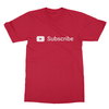 Youtube subscribe red men tshirt
