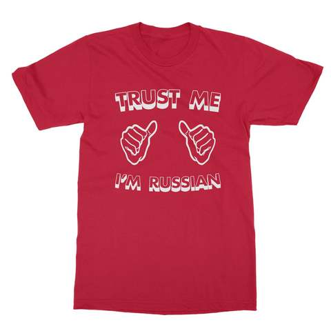Trust Me I'm Russian Shirt Men's T-Shirt