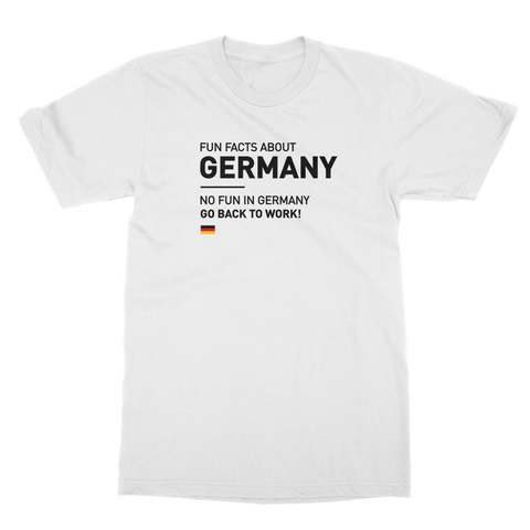 Fun Facts About Germany Men's T-Shirt