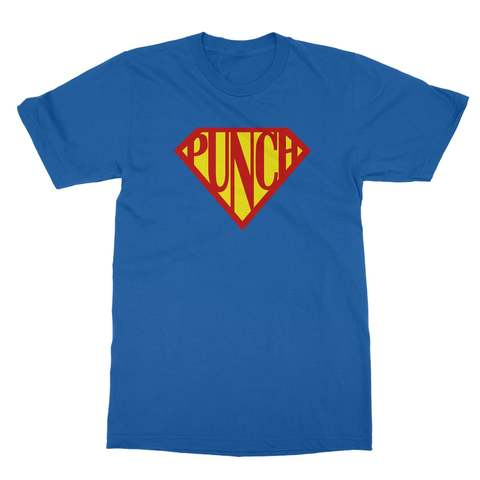Superman Punch Men's T-Shirt