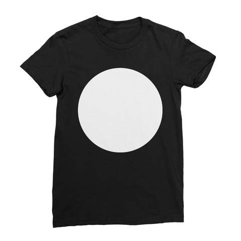 White Circle Women's T-Shirt