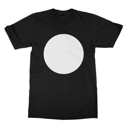 White Circle Men's T-Shirt