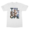 Telescope white men tshirt