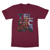 Telescope maroon men tshirt