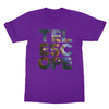 Telescope purple men tshirt
