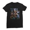 Telescope black women tshirt