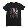 Telescope black women tshirt