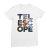 Telescope white women tshirt