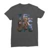 Telescope asphalt women tshirt