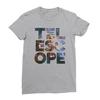 Telescope athletic heather women tshirt