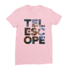 Telescope pink women tshirt