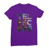 Telescope purple women tshirt