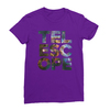 Telescope purple women tshirt