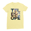 Telescope yellow women tshirt