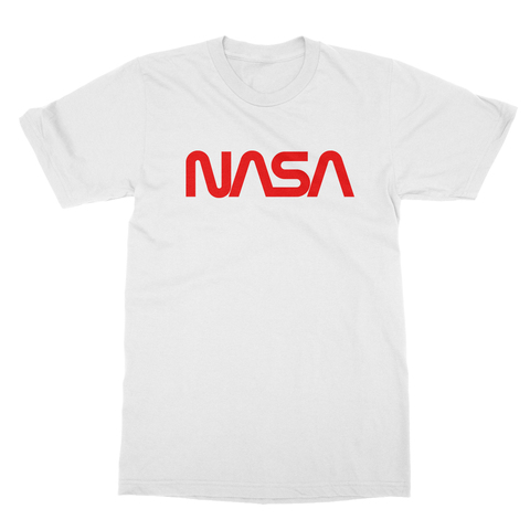 NASA Worm Logo Men's T-Shirt