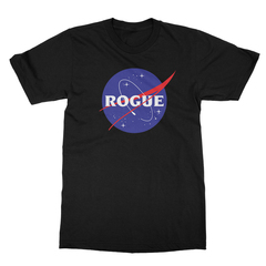 Rogue insignia black men tshirt