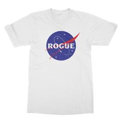Rogue insignia white men tshirt
