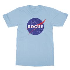 Rogue insignia baby blue men tshirt