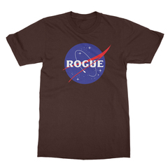 Rogue insignia chocolate men tshirt