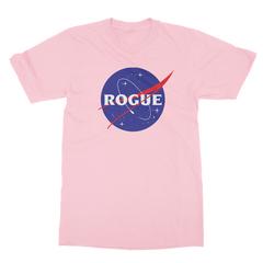 Rogue insignia pink men tshirt