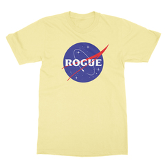 Rogue insignia yellow men tshirt