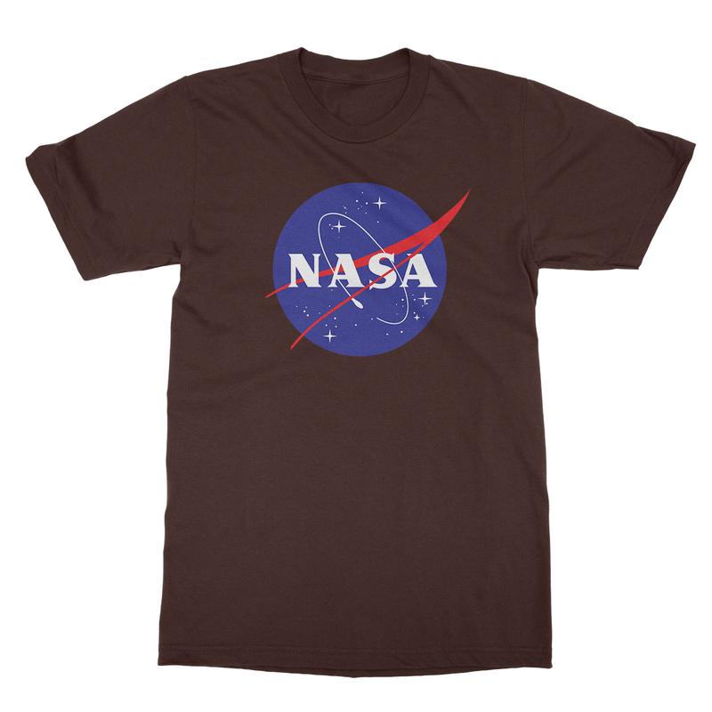 NASA meatball logo T-shirt for men - Kind Is Kind