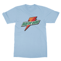 Haterade baby blue men tshirt