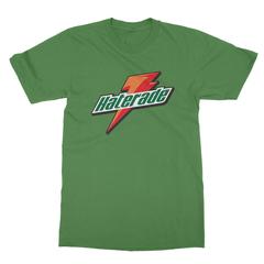 Haterade leaf green men tshirt