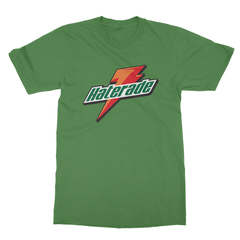 Haterade leaf green men tshirt