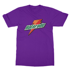 Haterade purple men tshirt