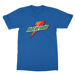 Haterade royal blue men tshirt