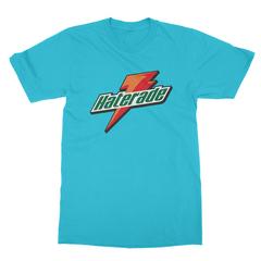 Haterade turquoise men tshirt