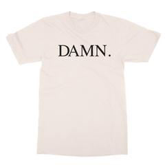 Damn cream men tshirt
