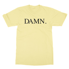 Damn yellow men tshirt