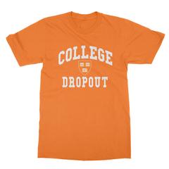 College dropout orange men tshirt