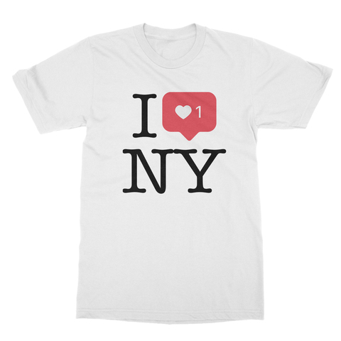 I Heart +1 NY Men's T-Shirt