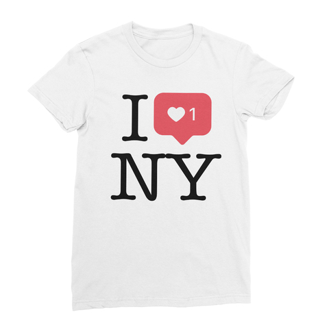 I Heart +1 NY Women's T-Shirt