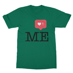 Instaheart me kelly green men tshirt
