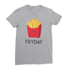 Fryday athletic heather women tshirt