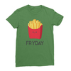 Fryday leaf green women tshirt