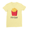 Fryday yellow women tshirt