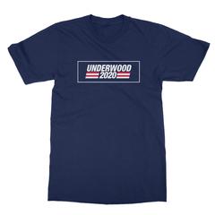 Underwood 2020 navy men tshirt