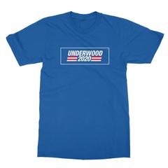 Underwood 2020 royal blue men tshirt