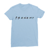 Frenemy baby blue women tshirt